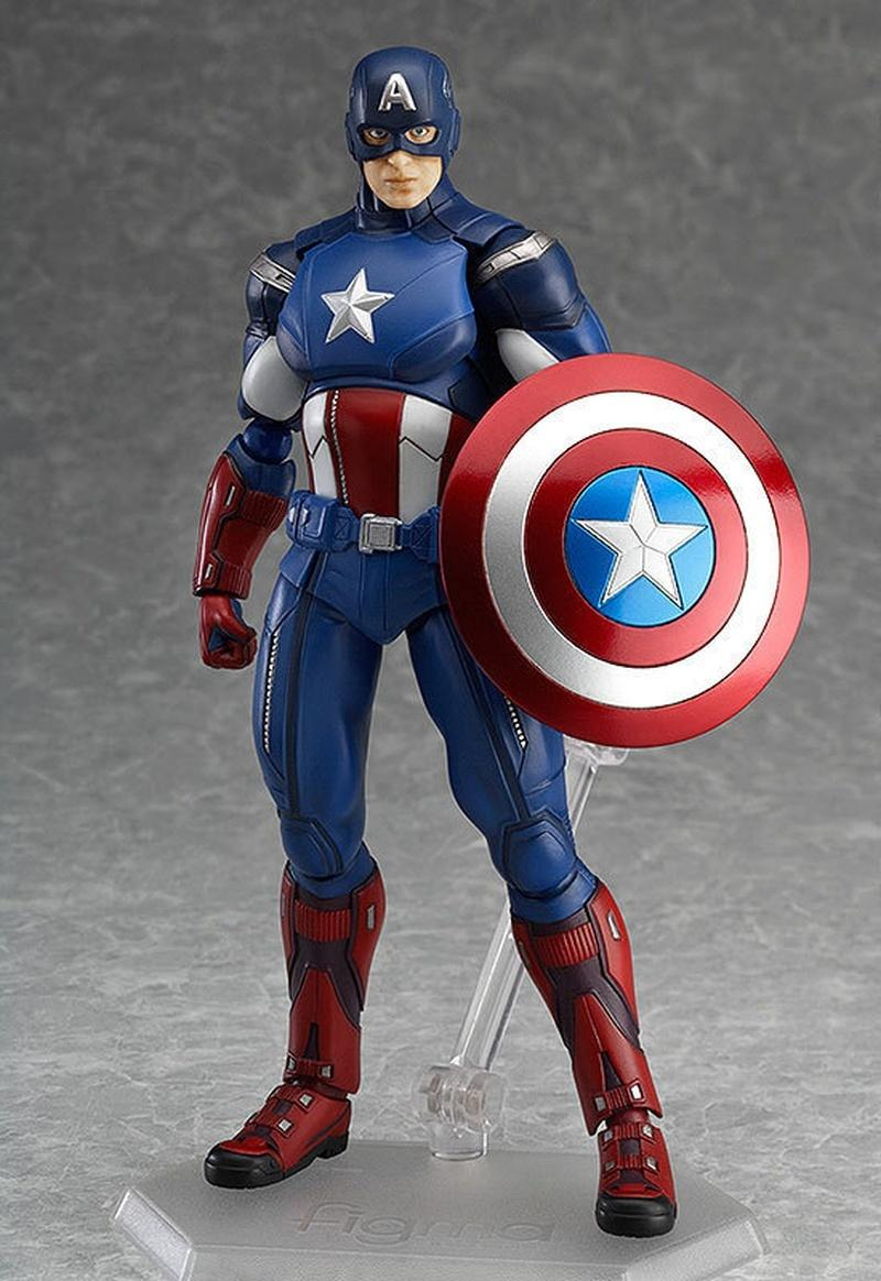 2018 the avengers captain america figma pvc action figure collectible model toy 16cm for kids anime lovers as christmas gift from hongli98 22 23 dhgate