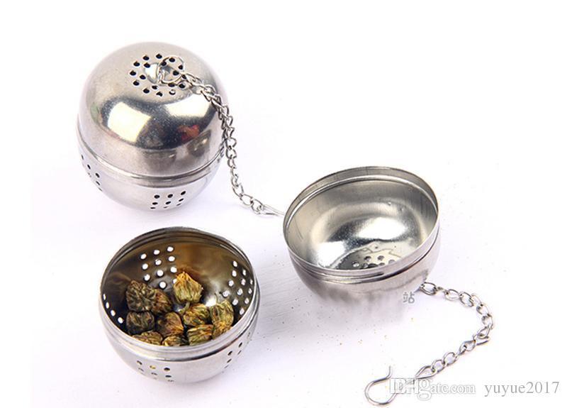 Sıcak Hakiki Paslanmaz Çelik Yardımcı aromalı topları / filtre torbaları / Çay Topları / Mutfak alet / Süzgeçler süzgeç çay süzgeci topu