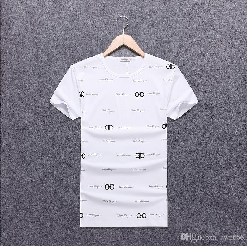 2019 Summer Designer T Shirts For Men Tops POLO blous Letter Embroidery T Shirt Men Clothing Brand Short Sleeve Tshirt Women Tops S-3XL 8721