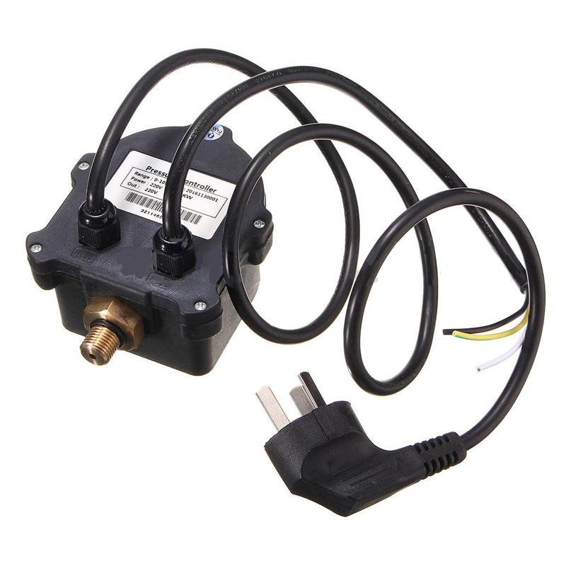 Digital Automatic Air Pump Water Oil Compressor Pressure Switch Controller for Water Pump