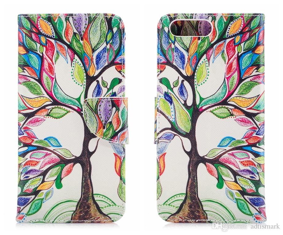 Flip Cover For One Plus 5 OnePlus 5 5t Case Luxury Wallet Leather Pattern Flower For OnePlus5 One Plus 5 5t Case Cover