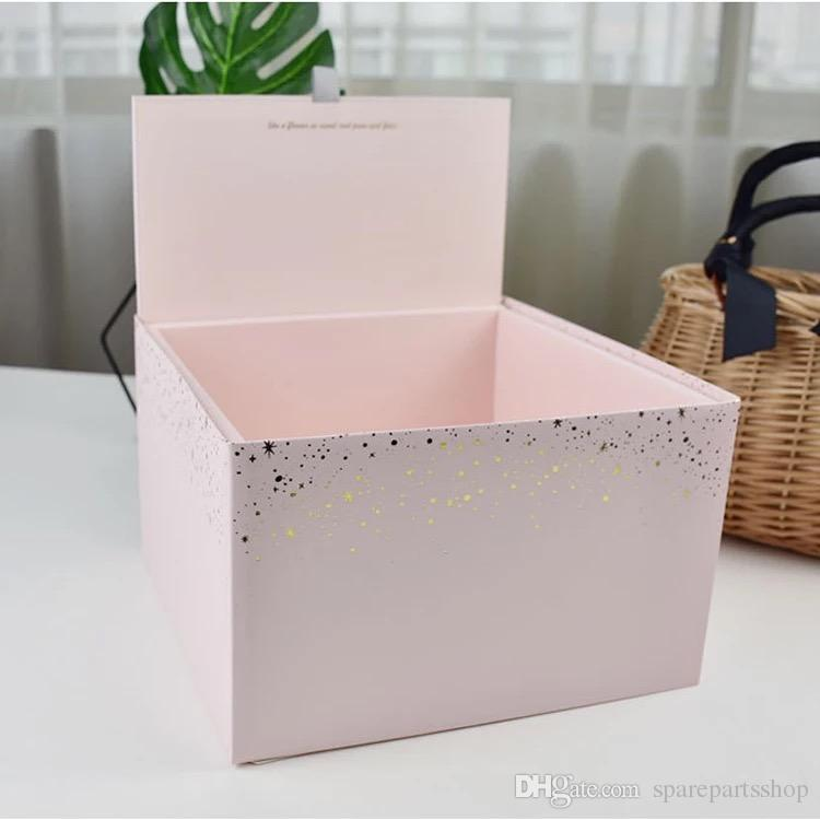 Personalized Large Square Christmas Gift Box Will Be My Bridesmaid Gifts Boxes Folding 4pcs Lot Free Shipping