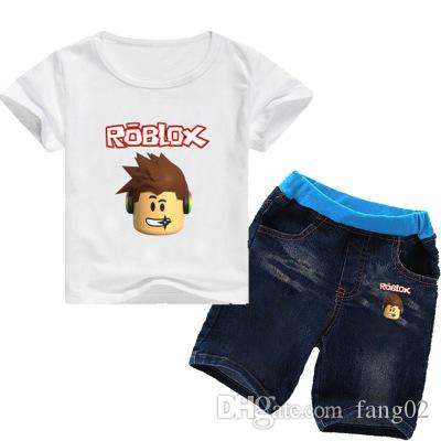 2 8years 2018 Kids Girls Clothes Set Roblox Costume Toddler Girls