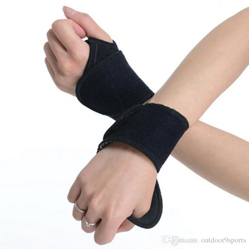 New Elastic Sticking Palm Wrist Support Sports Wrist Thumb Hand Wrap Glove Wrist Support Brace Gym Protector