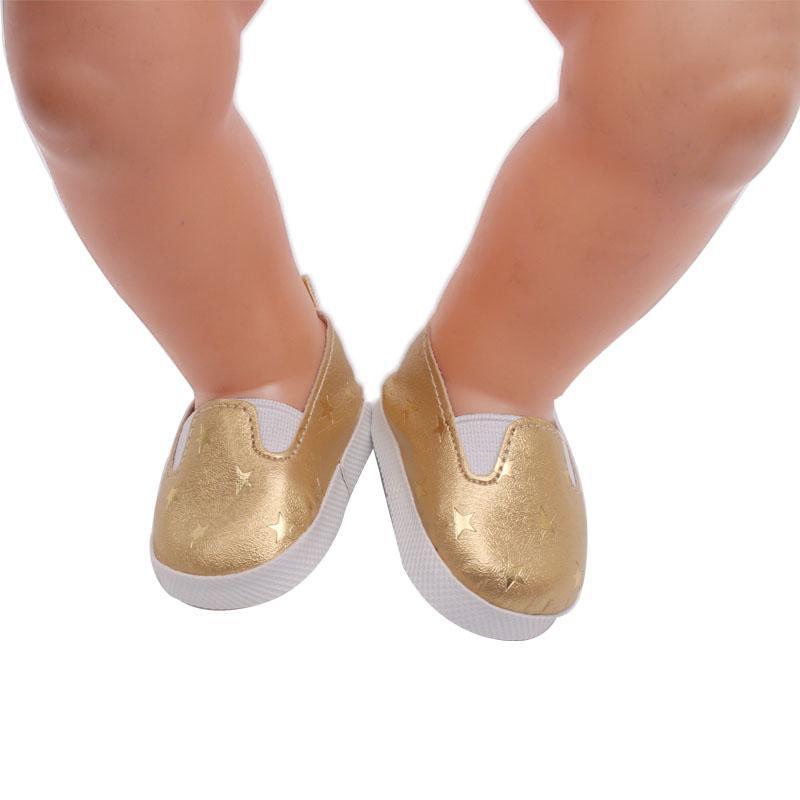 El diseño de zapatos para bebés bebés es más adecuado para los accesorios de muñeca de 43 cm Zapf nacidos g11-13
