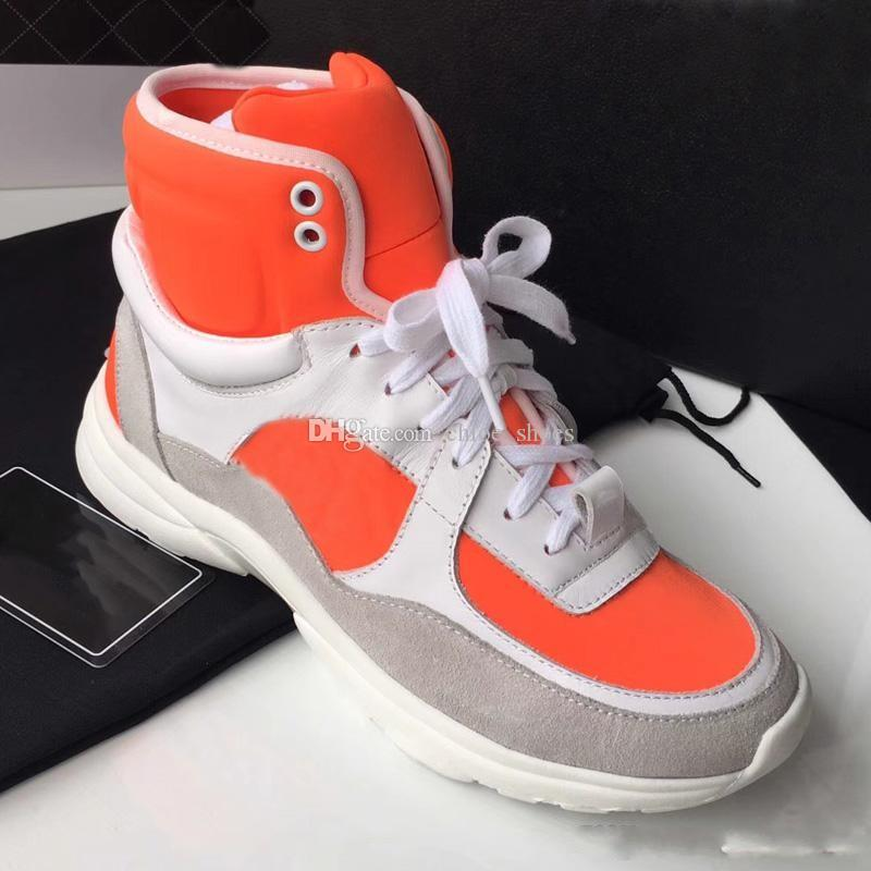 074309a38657 Designer HighTop Breathable Fashion Sneakers Outdoor Walking Shoes ...
