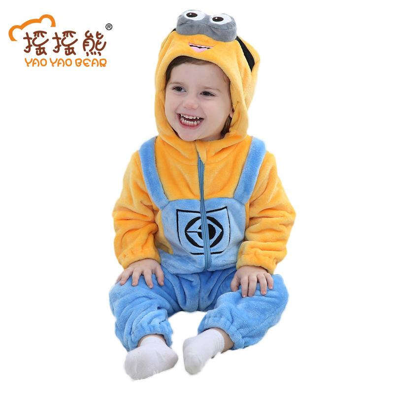 f6741e65533c Baby Girl Clothes Animal Baby Rompers Costume Newborn Clothes ...