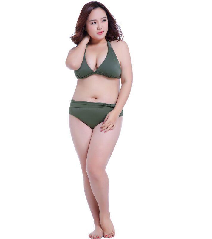62a4732049 2019 Swimwear For Fat Women Summer Swimuit Female Super 7XL Bathing Suits  Big Bras E F G H Push Up Sexy Bikini Plus Size 5XL From Clothing0005, ...