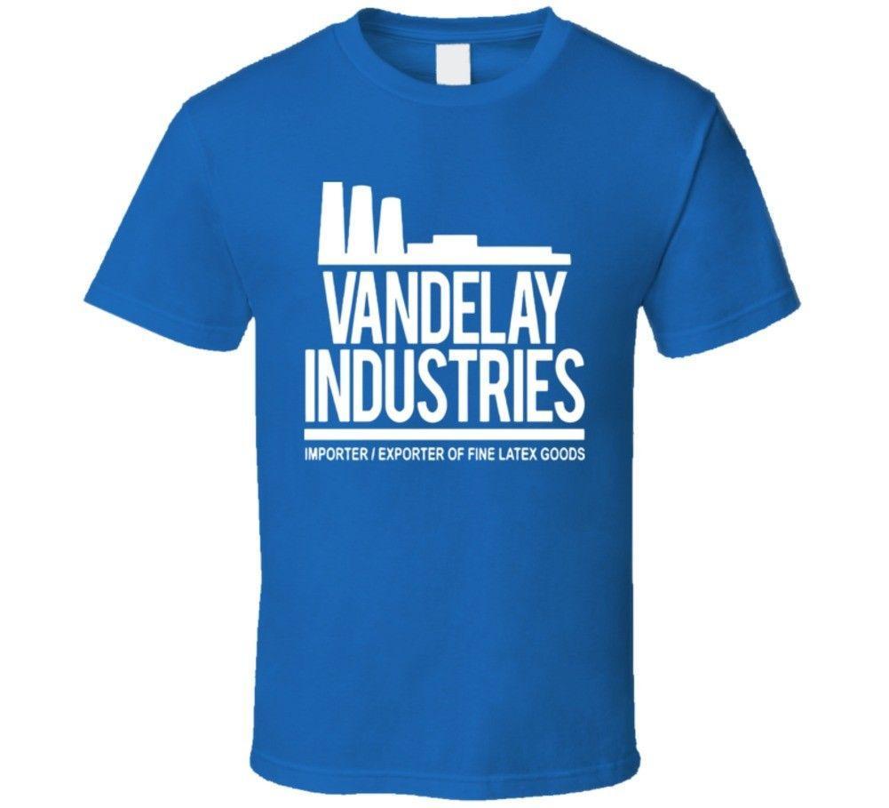 Seinfeld Vandelay Industries Factory Logo T Shirt Shart Fun Shirts From Teestotal 1156