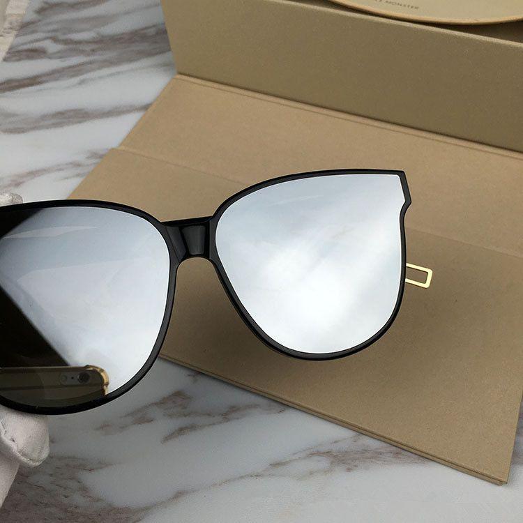 óculos de sol 2018GM Preto peter V polarizado UV400 importado puro-prancha óculos de muti-cor caso OEM preço de fábrica tomada full-set