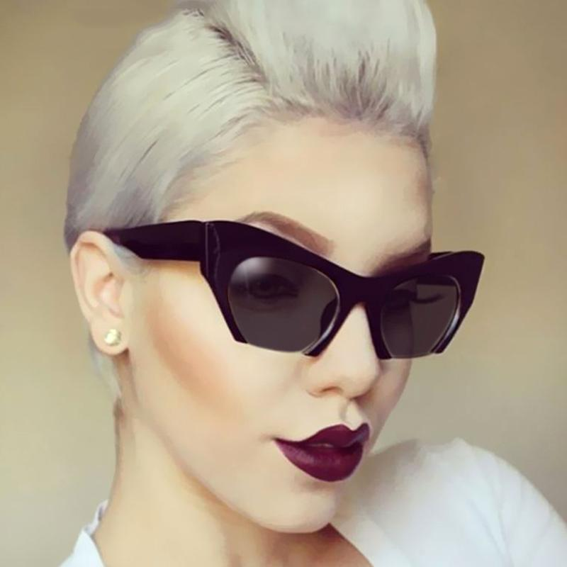 91d26cd7f0 Newest Semi Rimless Sunglasses Women Brand Designer Clear Lens Sun Glasses  For Women Fashion Sunglass Vintage Oculos Eyeglasses Sunglasses Hut From ...