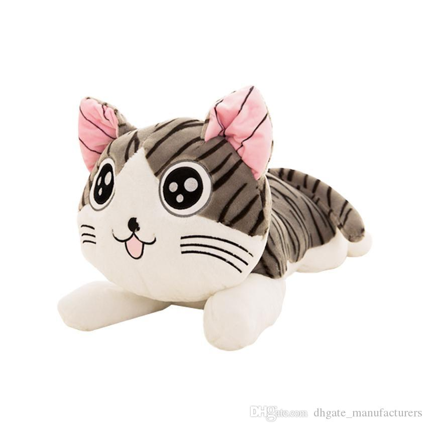 2019 Soft 20cm Christmas Birthday Gifts Japan Anime Figure Cheese Cat Plush Stuffed Toy Doll Pillow Cushion Kawaii For Kid From Dhgate Manufacturers