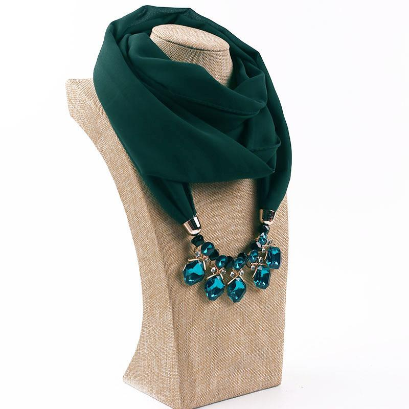 Jewelry scarves for women chiffon combine gold product necklace jewelry scarves for women chiffon combine gold product necklace scarf woman scarf pendants heart jewelry factory cost wholesale woman scarf pendants heart aloadofball Image collections