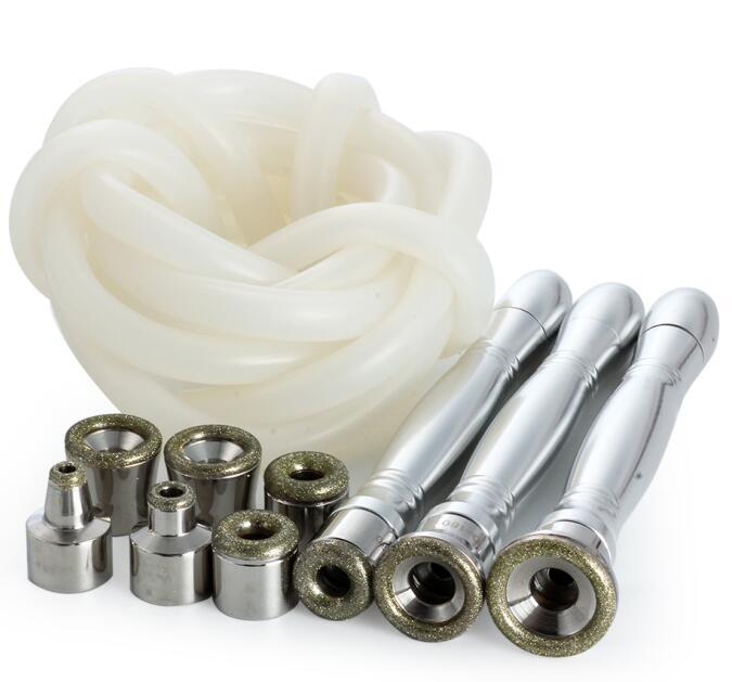 Vente chaude Hydra rajeunissement diamant hydrodermabrasion microdermabrasion nettoyage de la peau du visage / équipement de salon de beauté Diamond Peel Microder