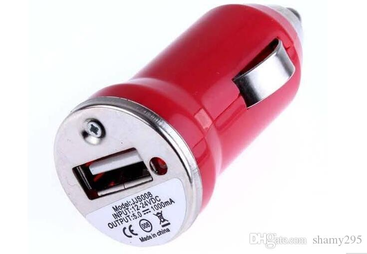 Mini USB Car Charger +Data Sync Charging micro usb Cable for Galaxy S3 S4 i9500 all Cell Phone Red 2018 new wholesales hot