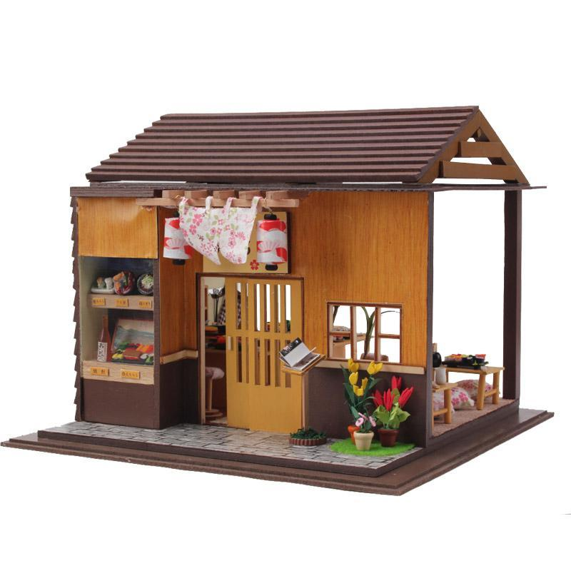 Handmade Doll House Furniture Miniatura Diy Doll Houses Miniature Dollhouse  Wooden Toys For Children Grownups Birthday Gift 3827 Handmade Dolls House  ...