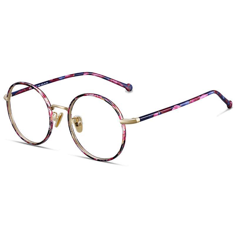 ea2f8bfd1a High Quality Vintage Optical Glasses Frame Round Retro Prescription  Eyeglasses For Men And Women Acetate Eyewear Frames NX Glass Frames Online  Eyeglasses ...
