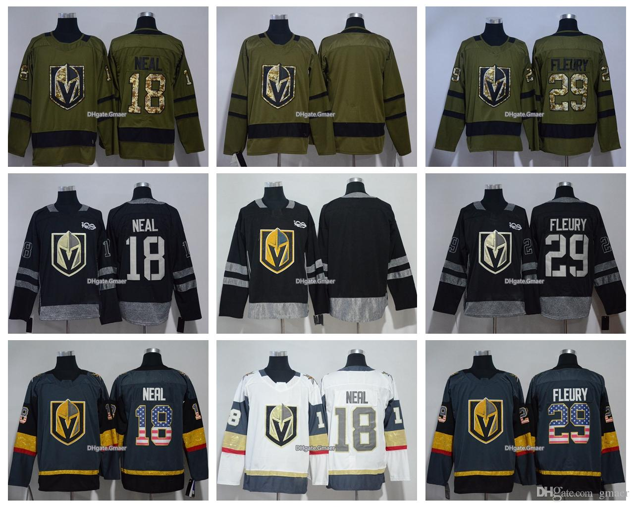 best quality 09089 573f0 adidas golden knights 77 brad hunt camo authentic 2017 ...