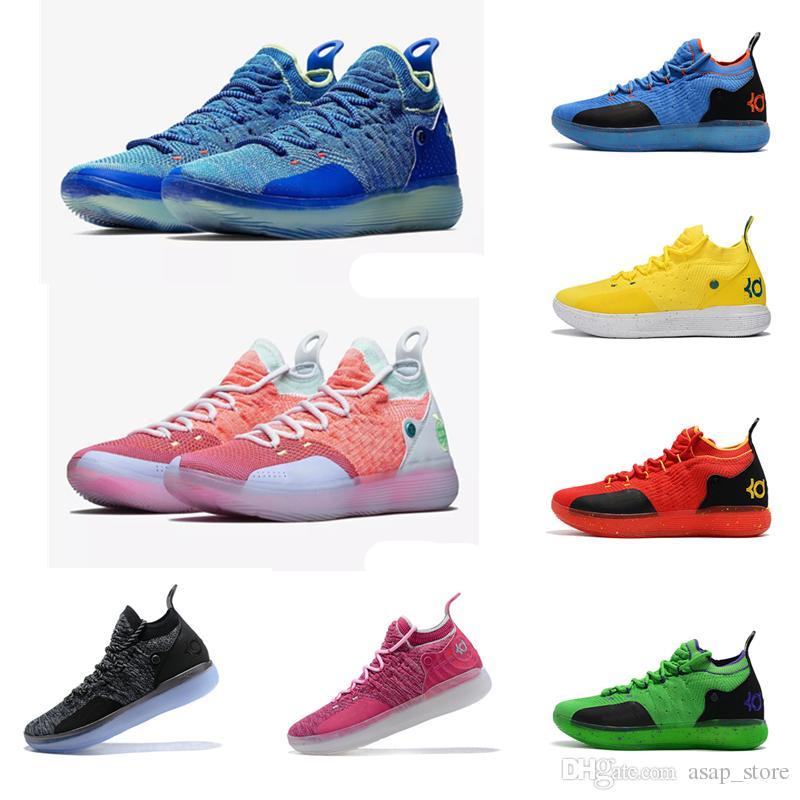 best loved 93185 be4a7 Acheter 2018 Zoom Kevin Durant KD 11 Numéros Oreo Multicolores BHM Igloo  Hommes Anniversaire Chaussures De Basket Universitaires Baskets Élite X De   87.44 ...