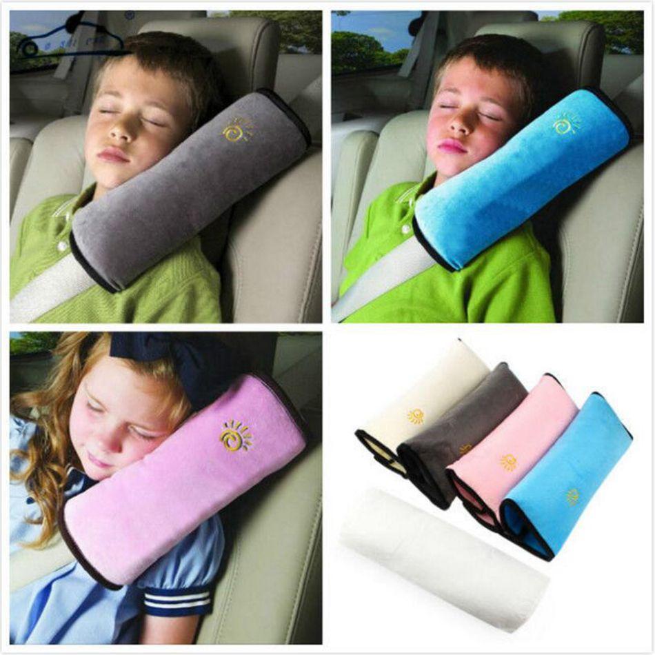 Asiento de seguridad para niños Seguridad para el niño Cojín del cinturón Correa Arnés Hombro Sueño Almohada Cojín Apoyo Hombro Relleno OOA4842