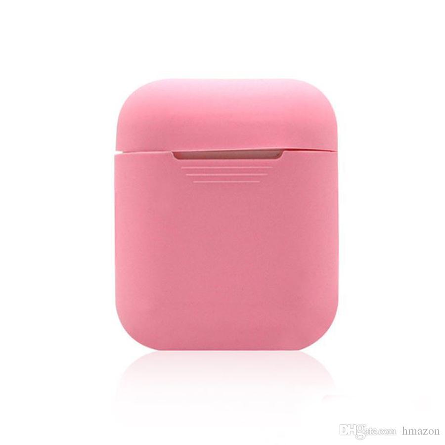 Nouveau Pour Apple Airpods Housse En Silicone Souple TPU Ultra Mince Protecteur Housse Pochette pour Gousses Air Cas Écouteur