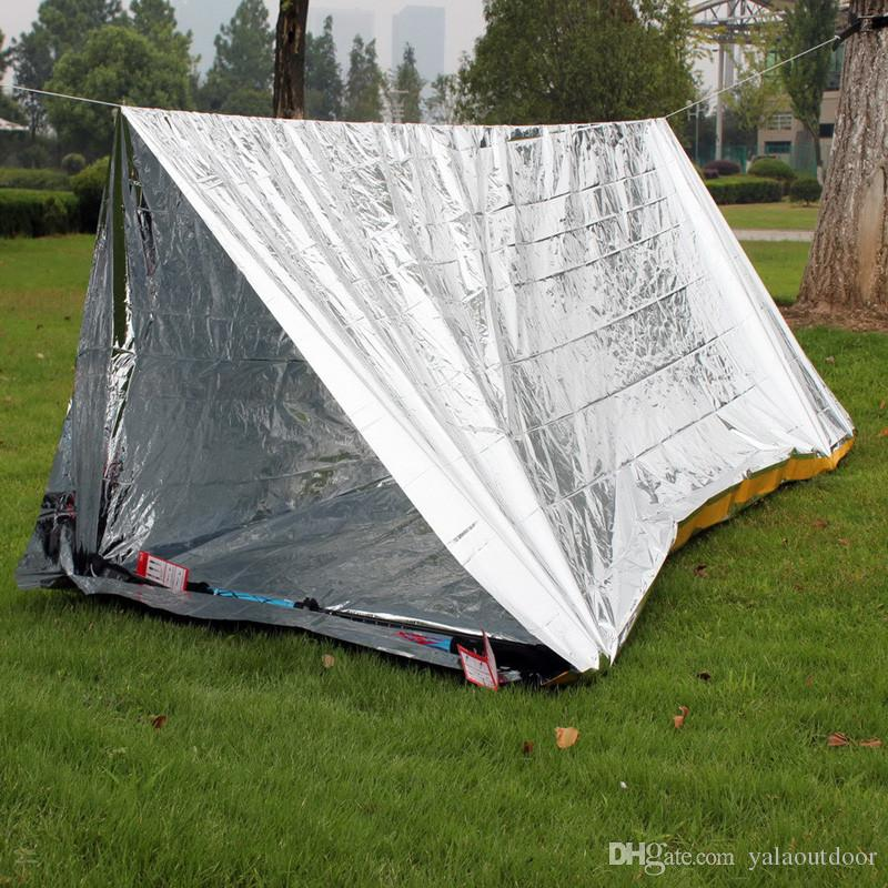 Argent Emergency Shelter Tent Outdoor Ultralight Portable C&ing Sos Shelter Mylar Emergency Tube Tent First Aid Gear Womens Shelters Dog Shelters Ireland ... & Argent Emergency Shelter Tent Outdoor Ultralight Portable Camping ...