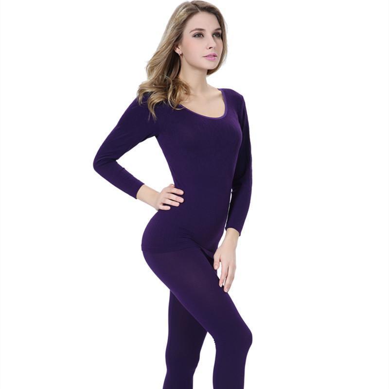44fa99944ef 2019 Thermal Underwear Women 2016 Hot Sale Winter Antibiosis Warm Long  Johns Underwear Top Pant Sexy Slim Comfortable From Odeletta