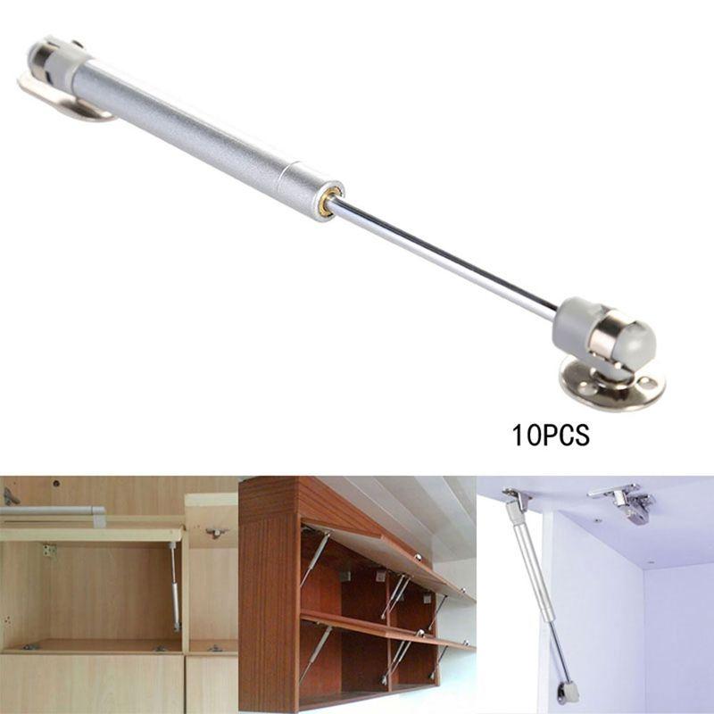Novo 100N / 10KG Porta Elevador Suporte Pneumático Mola De Gás Hidráulico Estada Titular Ganchos Trilhos para Gabinete De Cozinha ferramenta