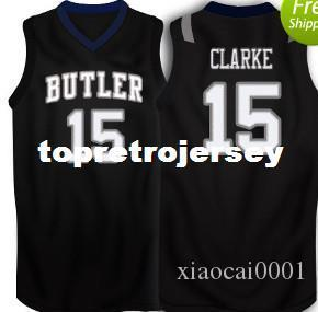 Cheap #15 Rotnei Clarke Butler Bulldogs Basketball Jersey College vest T-shirt Stitched Jerseys Shirt Custom any Number ,Name and Size