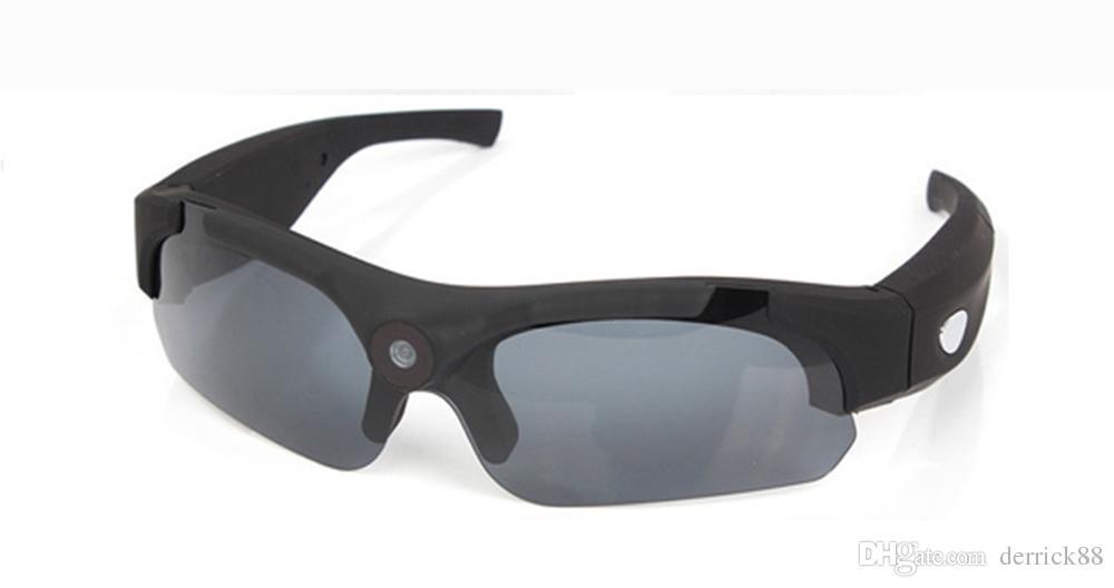 720° Wide Angle High Definition Digital DV Sunglasses, 1080 P HD Camera Sunglasses Smart Outdoor Sport Polaroid Sunglasses