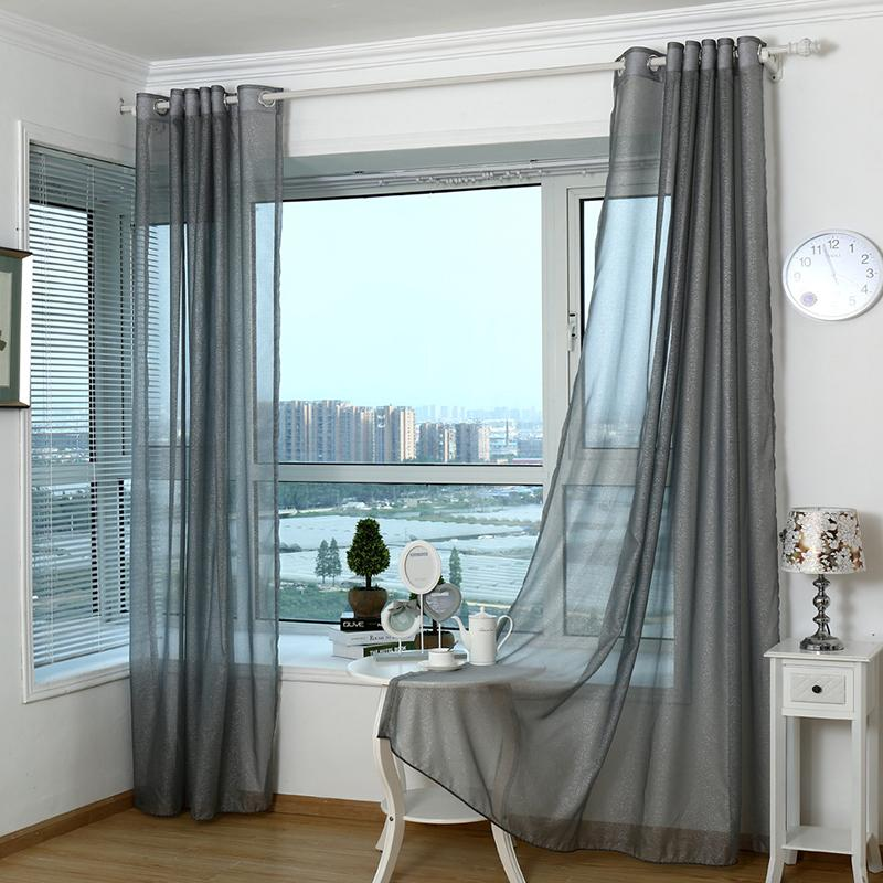 Acquista 2017 Tende Moderne Soggiorno Tulle Window Bedroom Cortinas ...