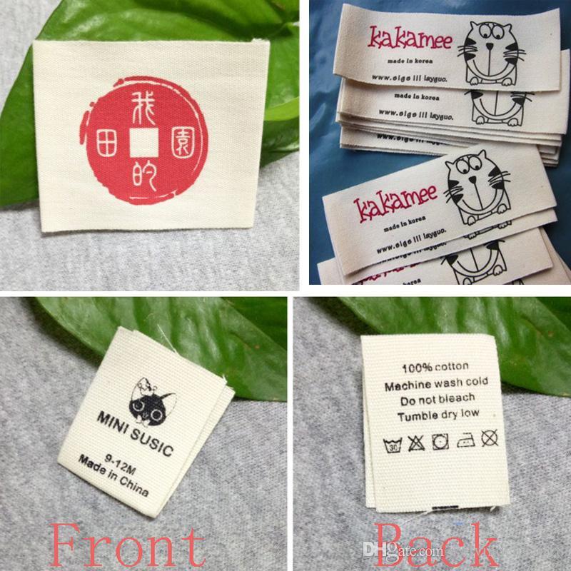 Acquista Etichette Di Abbigliamento Personalizzate In Cotone Etichette  Personalizzate Di Etichette Etichette In Tessuto Abbigliamento A  25.13 Dal  ... c4d0b458a08