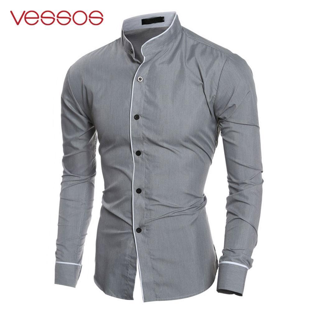 7f5a92bfedee53 Acquista Camicia Casual Da Uomo Manica Lunga Coreana Manica Lunga Casual A  $21.63 Dal Qingchung | DHgate.Com