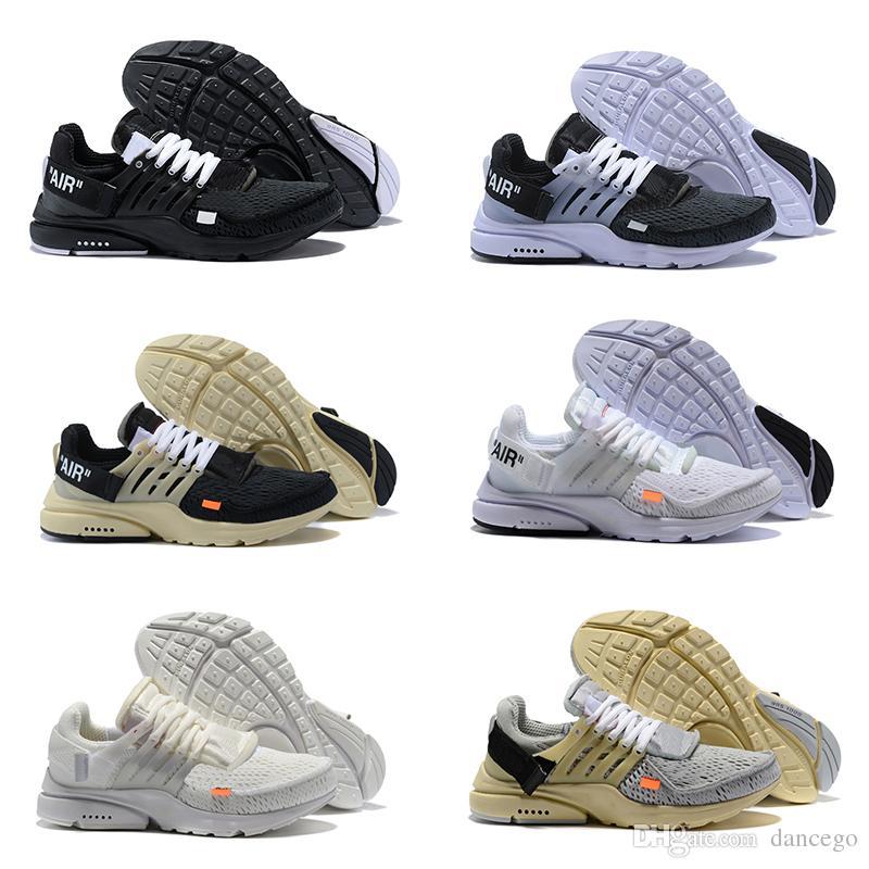 2019 Best 51 Off Sale Presto Men Women Sneakers Triple Black White