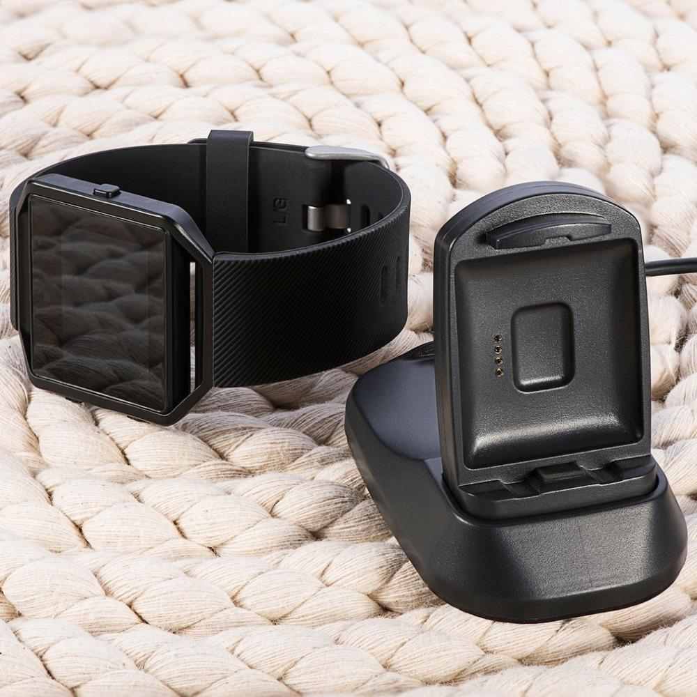 Multi-function Charger For Fitbit blaze Smart Watch Charging Dock Station  Cradle Holder with USB charger cable