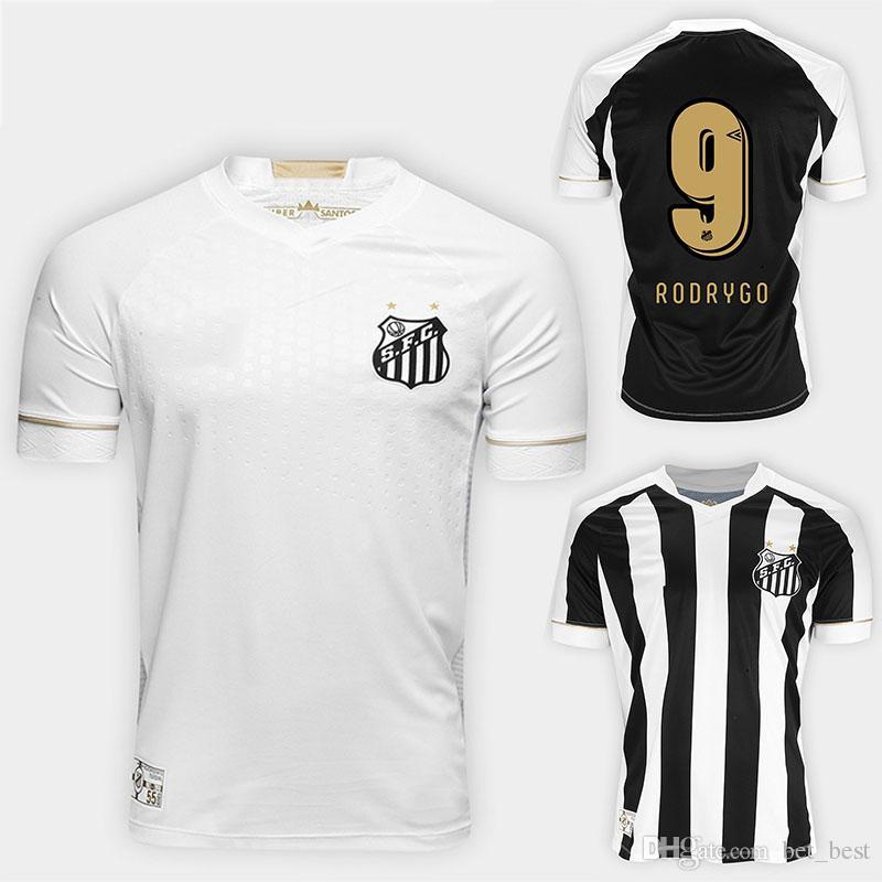 Compre 2018 Camisa Santos Camisa De Futebol Renato Alison Gabriel Camisola  18 19 Rodrygo Vanderlei Bruno Henrique Uniformes De Futebol S 2XL De  Bet best e6c059dbb8934