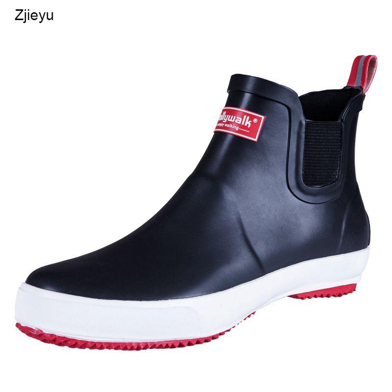 2da4cc2e07e9 2019 2018 Sale Men Rubber Rain Boots Asker Bot Winter Fishing Boots For Men  Lightweight Antiskid Rubber Boots Galoshes Sneakers Waterproof Boots  Western ...