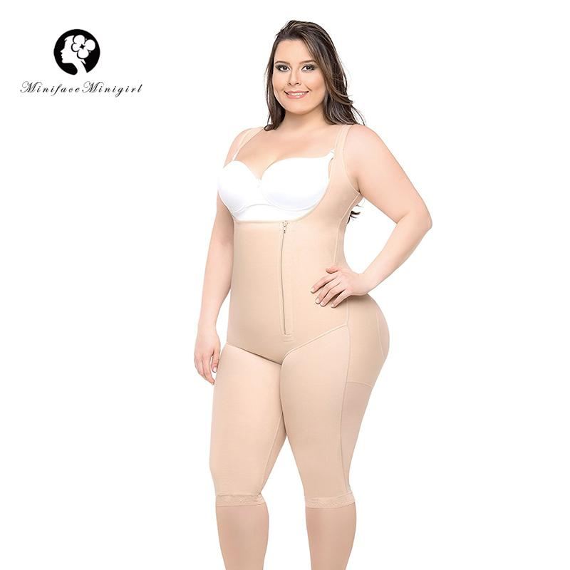 e46c387995c99 2019 Women Hot Waist Trainer Slimming Body Shaper Feminino Push Up Bodysuit Modeling  Strap Shapewear Women Bodysuit 5XL 6XL Plus Size From Derricky