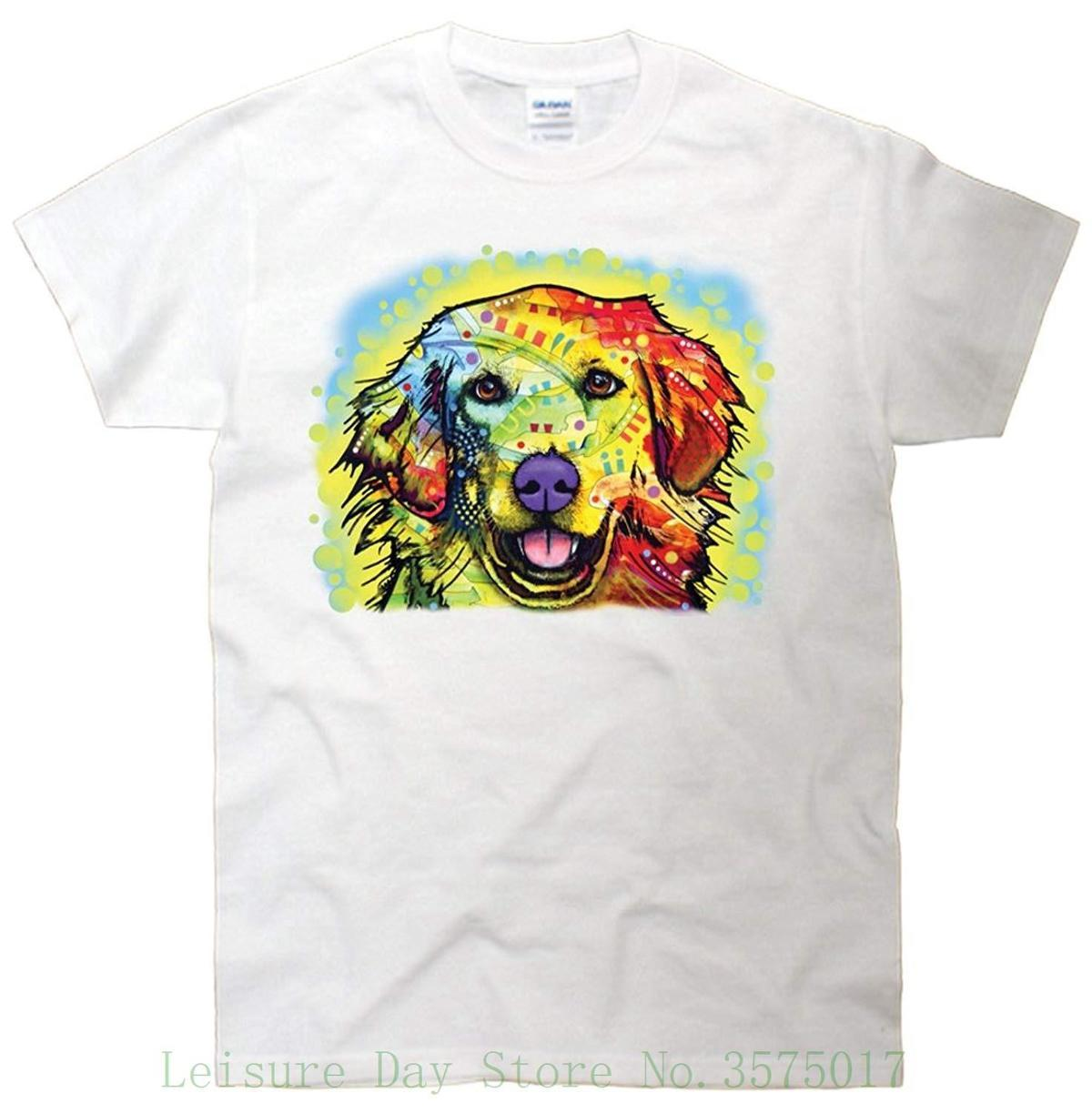 d27985417e Golden Retriever Official Dean Russo T Shirt Quality T Shirts Men Printing  Short Sleeve O Neck Tshirt Funny Slogan T Shirts Cool Shirt Design From  Yuxin0005 ...
