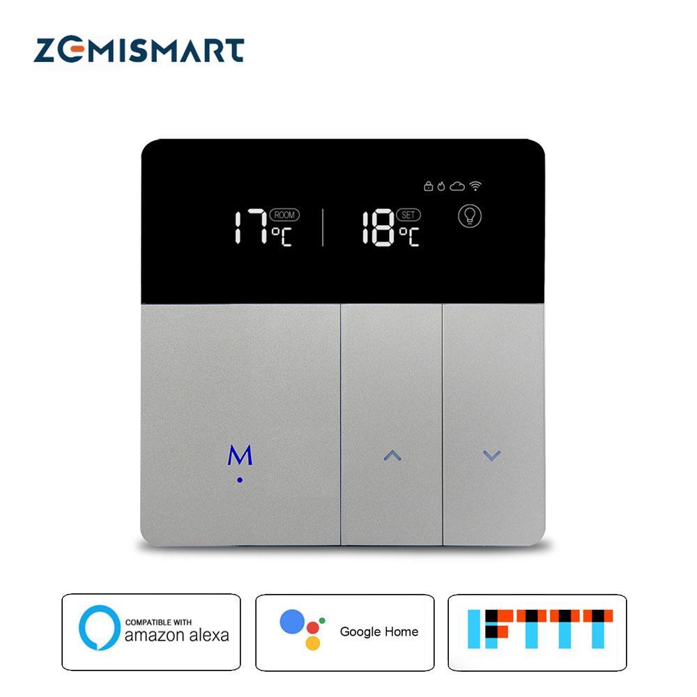 Grosshandel Elektrische Fussbodenheizung Thermostat Arbeiten Mit Alexa