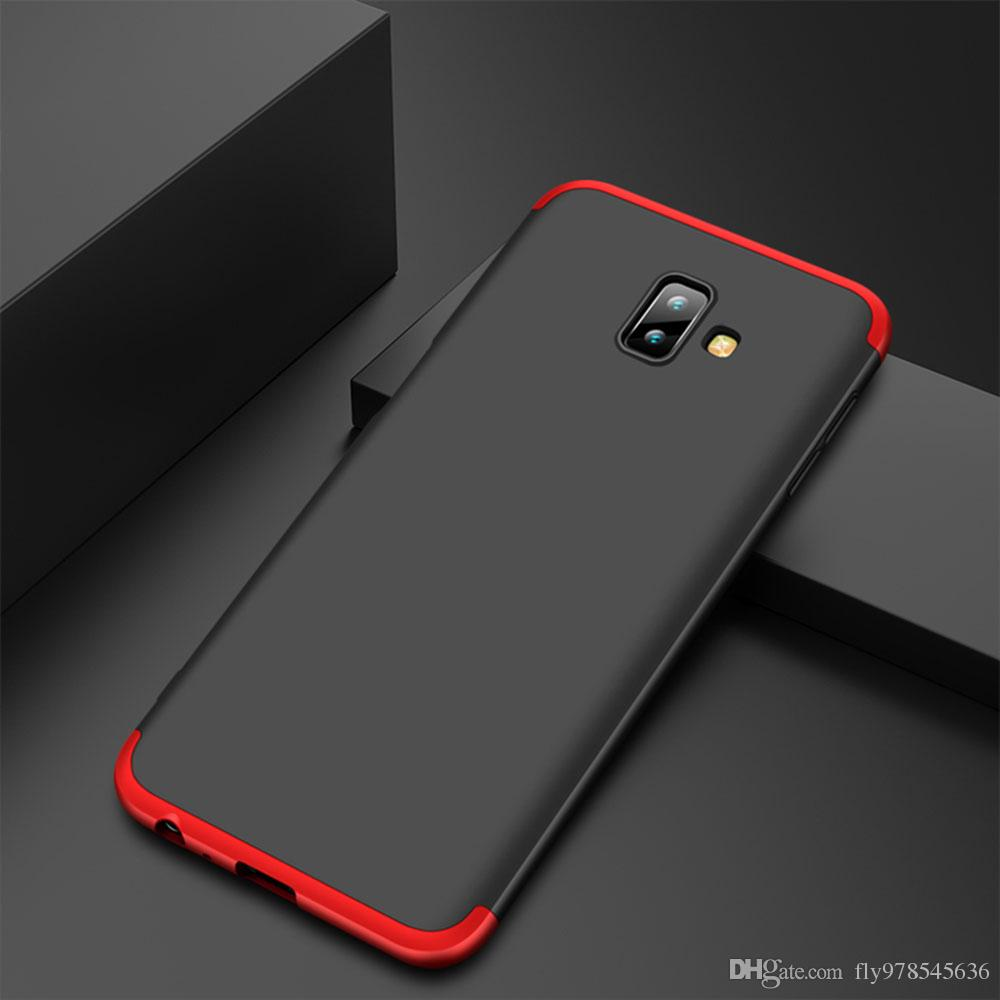 new product bc9f2 77455 For Samsung Galaxy A7 2018 A750F Case 3 in 1 360 Full Protection Shockproof  Phone Case J4 J6 J8 Plus 2018 A6 A8 A7 2018 Plus Coque