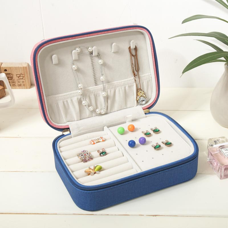2018 Embroidered Jewelry Box Jewelry Box Packaging Casket Makeup