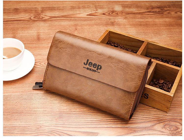 cc05024fd941 Men Wallet Coin Pocket Long Zipper Genuine Leather For Men Clutch Business  Male Wallet Double Zipper Vintage Large Purse Owl Wallet Visconti Wallet  From ...