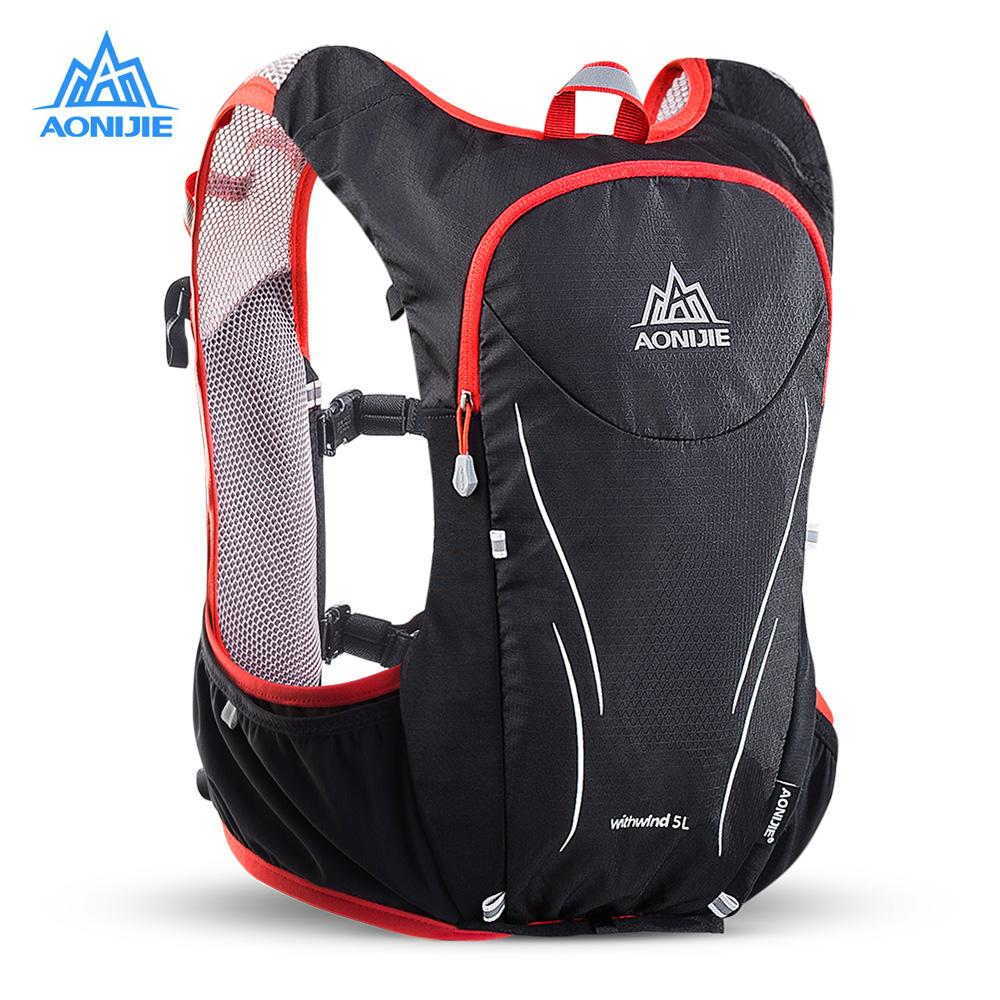 AONIJIE E906S 5L Upgraded Outdoor Running Bag Backpacks Marathon ... e229975a32143