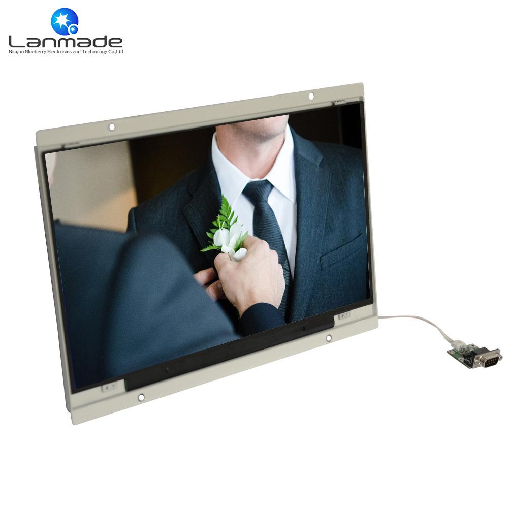 14 Inch Oem Push Button Video Player Classic Function Open Frame ...