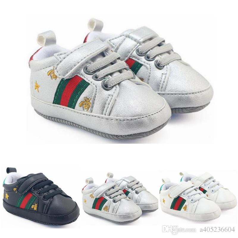 Retail New Baby Shoes Sneakers Fashion Soft Bottom Baby Toddler Shoes Boys  Girls Soft Toddler Shoes Size 0 3 UK 2019 From A405236604 9fde54f1a