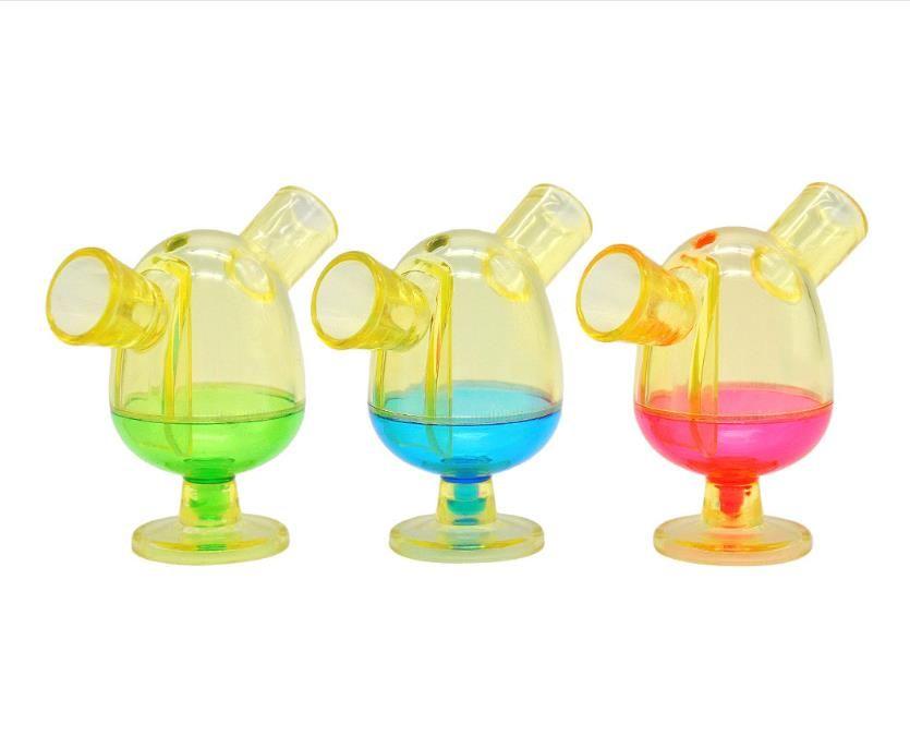 Nouveau tuyau plastique créatif couleur portable