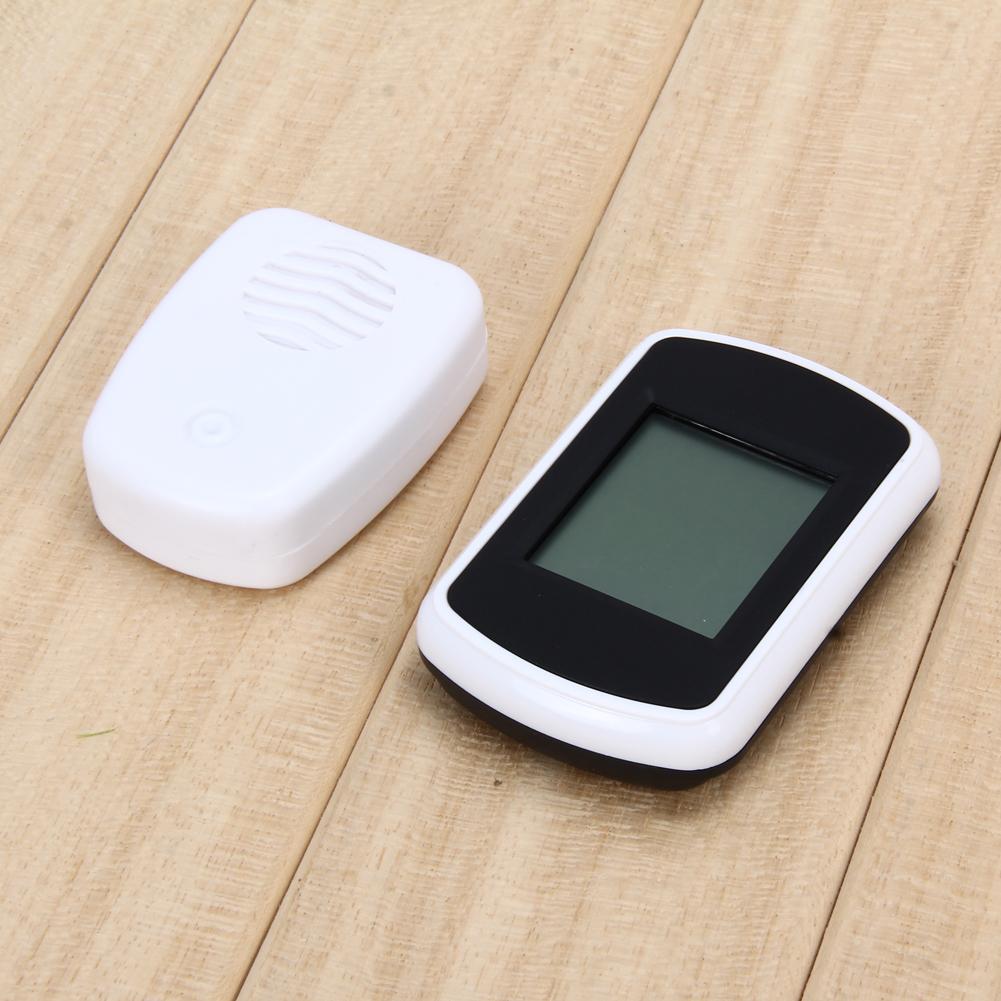 ميزان الحرارة داخلي وخارجي مع شاشة LCD الاستشعار المنزلية ميزان الحرارة الرقمي عالية الدقة متر PTSP في صندوق البيع بالتجزئة