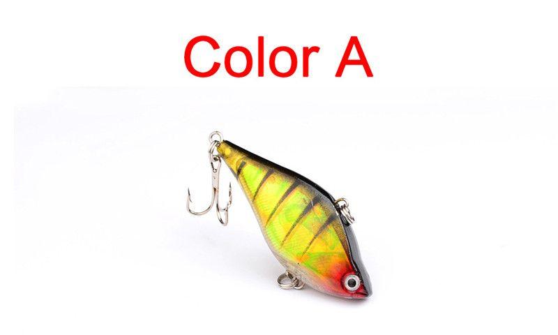 NEW Shallow Sinking Plastic VIB Bait 13g 6cm lifelike fishing lure Vibration Crank baits Fishing tackle