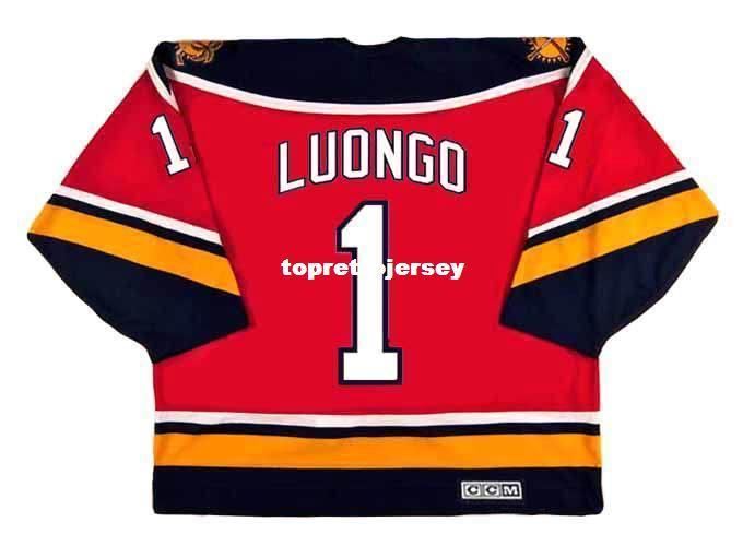 2019 Wholesale Mens Roberto Luongo Florida Panthers 2003 Ccm Vintage